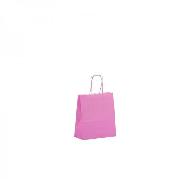 Papier Tragetaschen 18x08x25cm pink