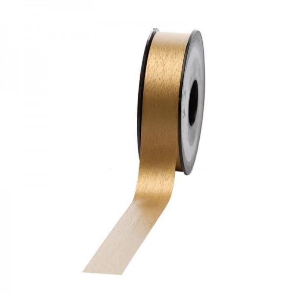 Polyband matt 25mm 45Meter gold