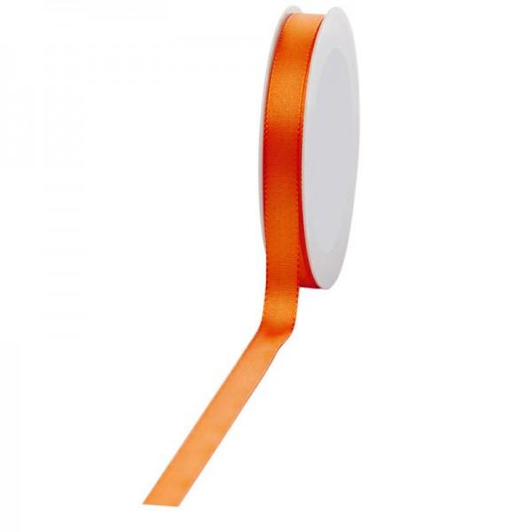 Geschenkband Stoff 15mm / 50Meter orange
