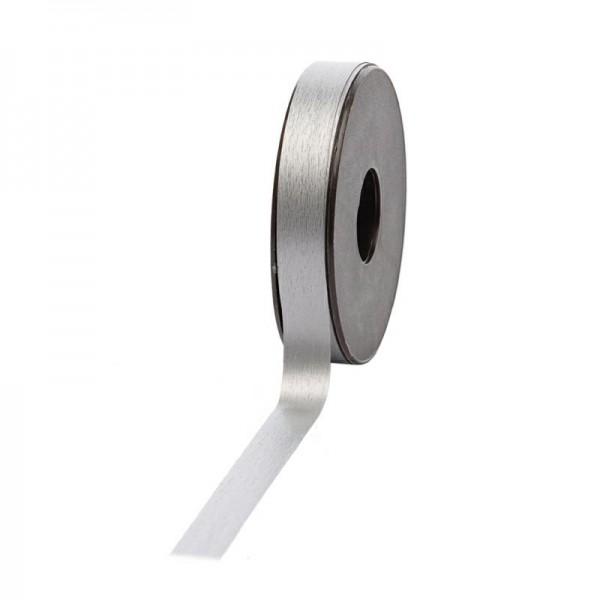 Polyband matt 16mm 45Meter silber