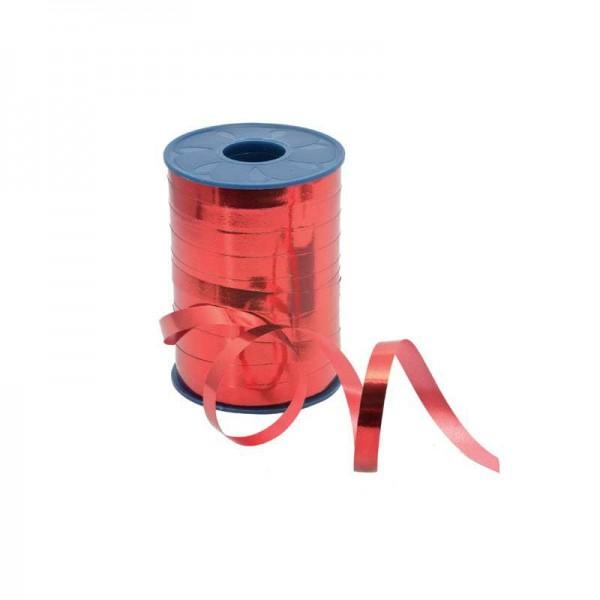 Polyband metallic 10mm 250Meter rot