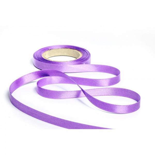 Geschenkband mit Druck 15mm breit 100 Meter lila