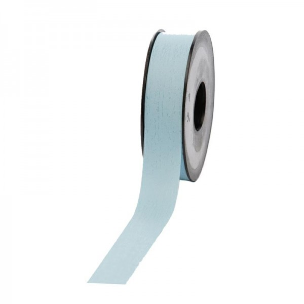 Polyband matt 25mm 45Meter hellblau