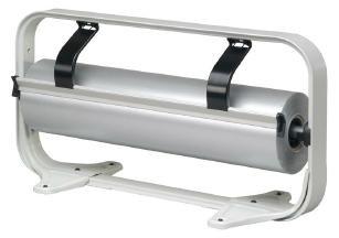 Tischabroller 50 cm hellgrau glattes Messer