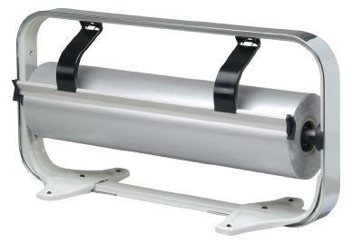 Tischabroller 50 cm verchromt gezahntes Messer