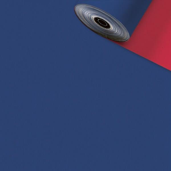 Geschenkpapier Rolle 50cm 200Meter blau/rot