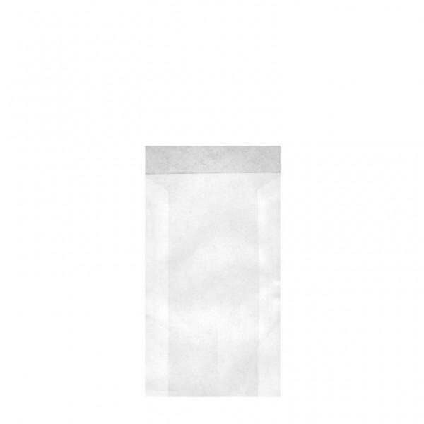 Zweinaht-Flachbeutel Typ 705 7.5x11.5+2 cm