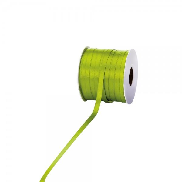 Satinband 6mm 100Meter apfelgrün