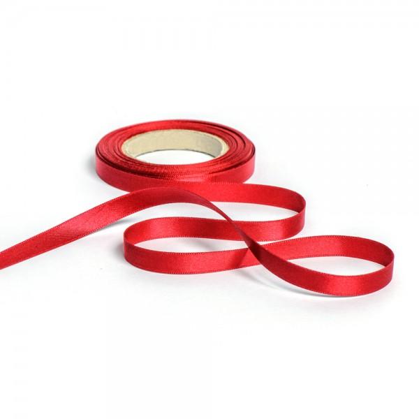 Geschenkband mit Druck 10mm breit 100 Meter bordeaux