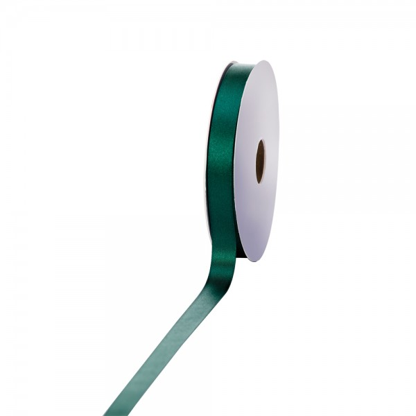 Satinband 15mm 50Meter dunkelgrün