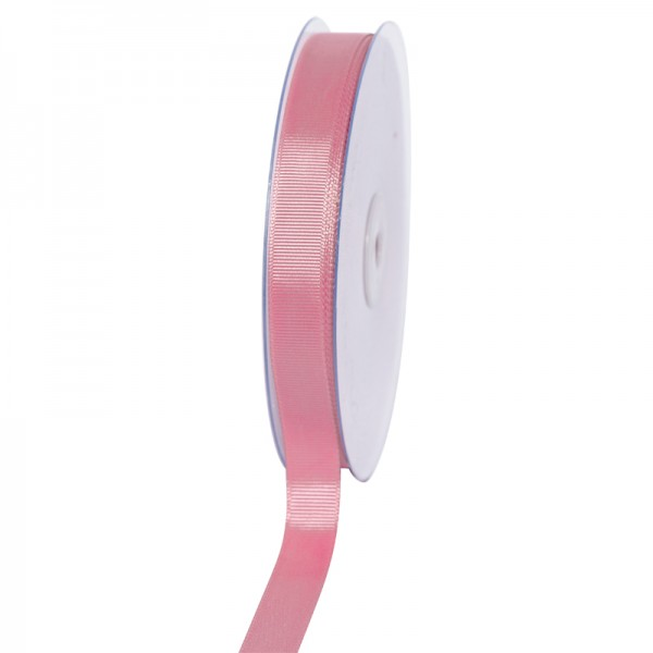 Geschenkband Grosgrain 16 mm/50Meter altrosa