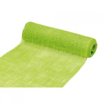 Tischläufer Jute 30cm 5 Meter grün