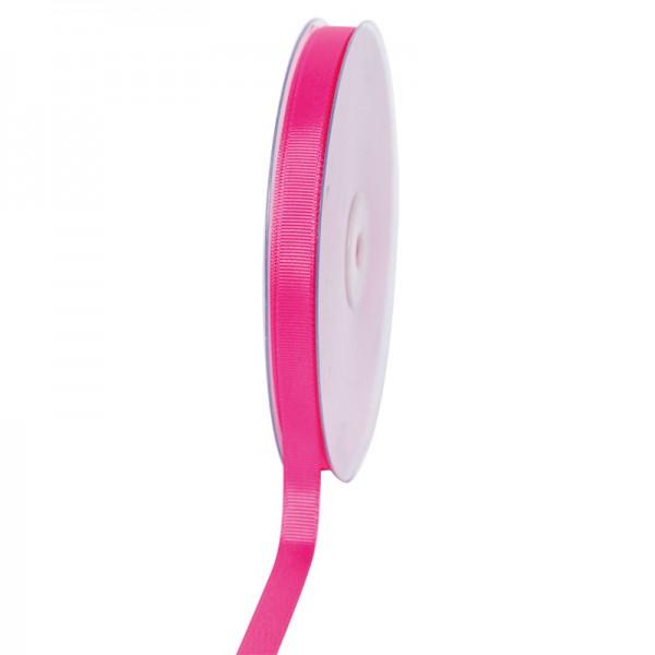 Geschenkband Grosgrain 9 mm/50Meter pink