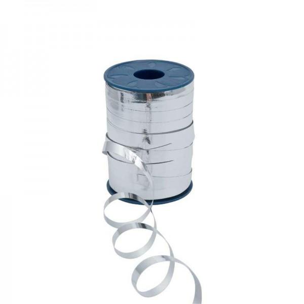 Polyband metallic 10mm 250Meter silber