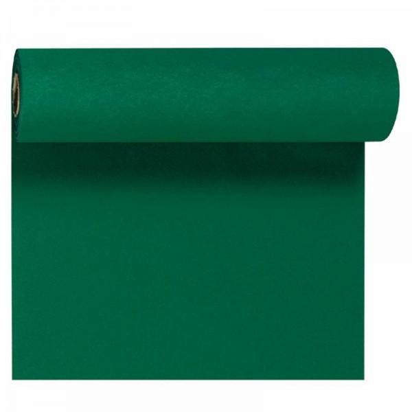 DUNI Tete-A-Tete Tischläufer Dunicel jägergrün