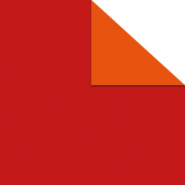 Geschenkpapier Rolle 50cm 50Meter rot/orange