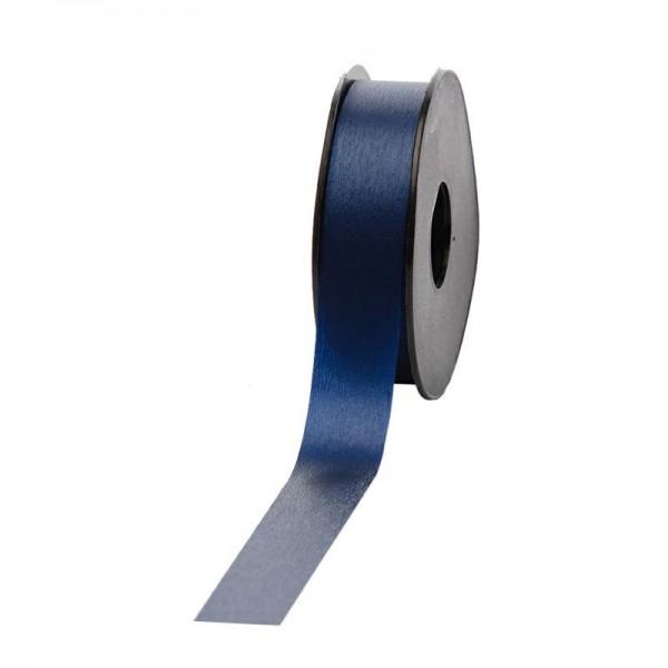 Polyband matt 25mm 45Meter dunkelblau