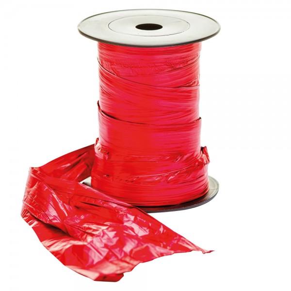Crash Folie auf Rolle 125mm 50Meter rot