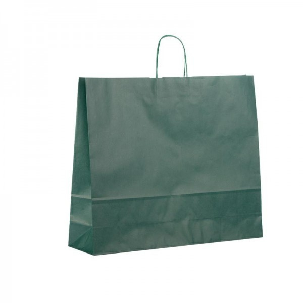 Papier Tragetaschen 54x14x45cm jägergrün