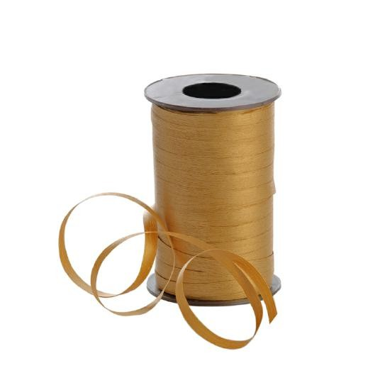 Polyband matt 7,5mm 180Meter gold