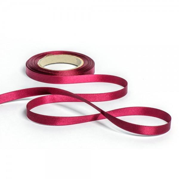 Geschenkband mit Druck 25mm breit 100 Meter brombeere