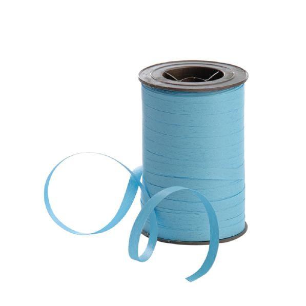 Polyband matt 7,5mm 180Meter hellblau
