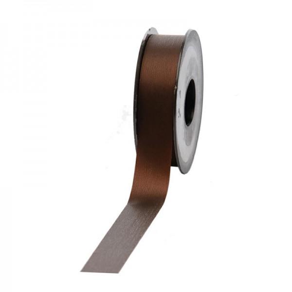 Polyband matt 25mm 45Meter dunkelbraun
