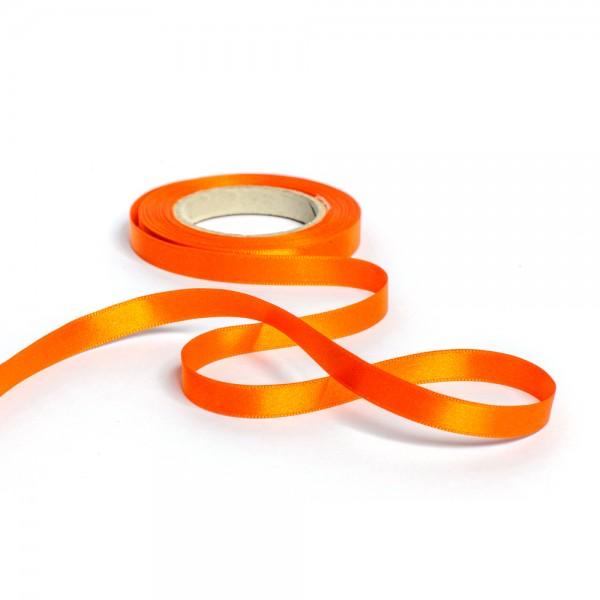 Geschenkband mit Druck 50mm breit 100 Meter orange