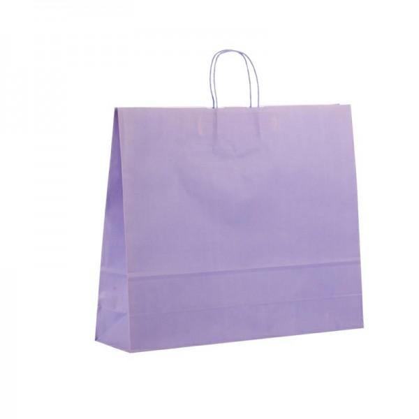 Papier Tragetaschen 54x14x45cm violett