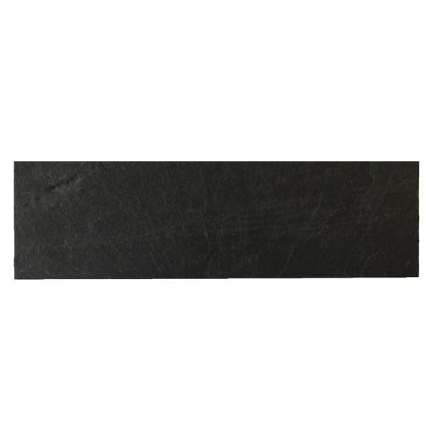 Schieferplatte rechteckig 13x40 cm