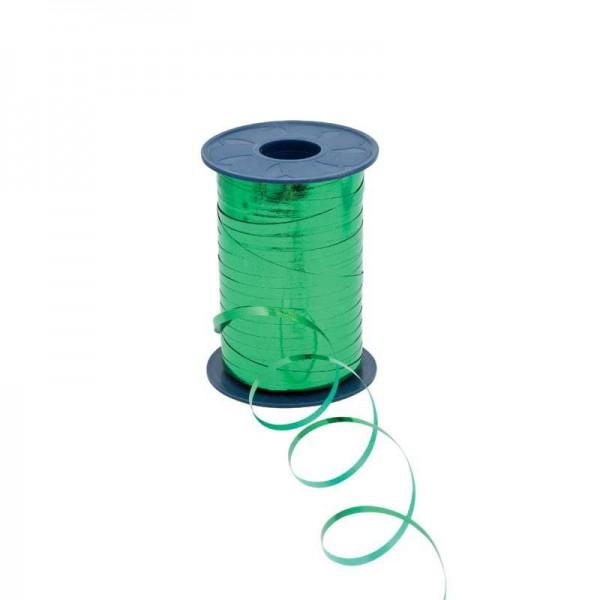 Polyband metallic 5mm 400Meter grün
