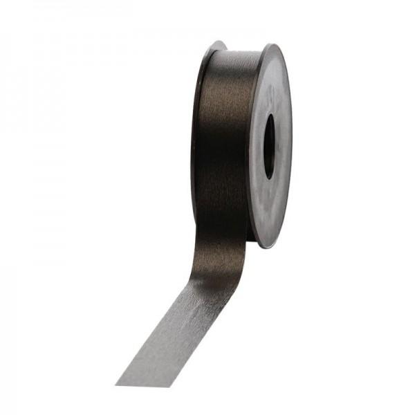Polyband matt 25mm 45Meter schwarz
