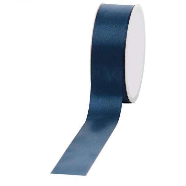 Geschenkband Stoff 40mm / 50Meter dunkelblau