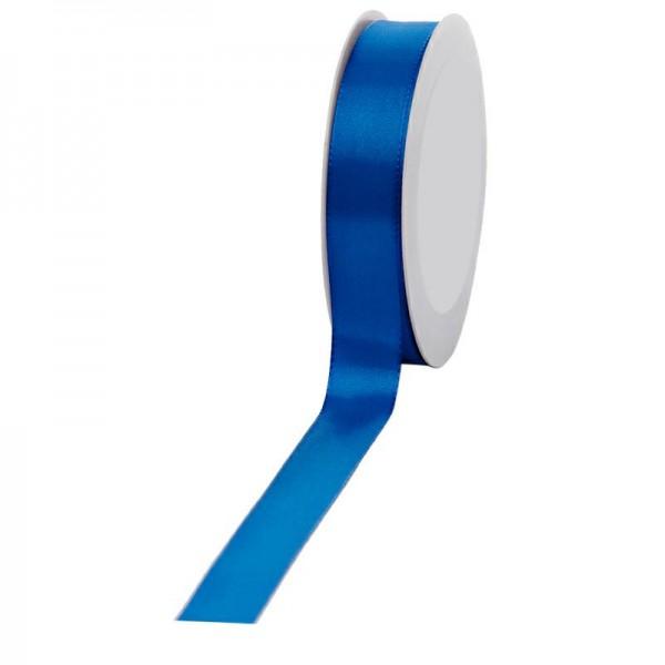 Geschenkband Stoff 25mm / 50Meter blau