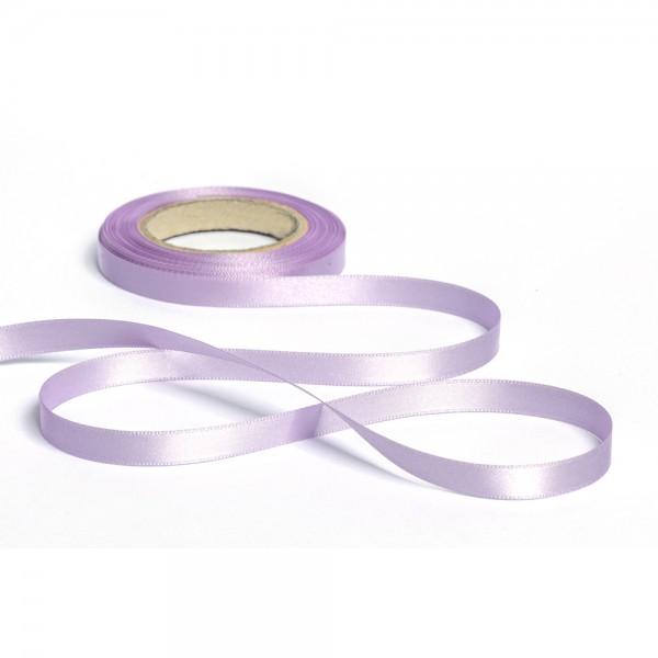 Geschenkband mit Druck 10mm breit 100 Meter flieder