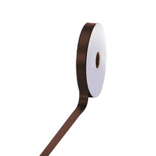 Satinband 15mm 50Meter dunkelbraun