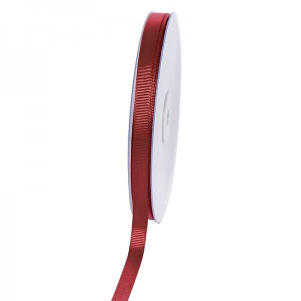 Geschenkband Grosgrain 9 mm/50Meter bordeaux