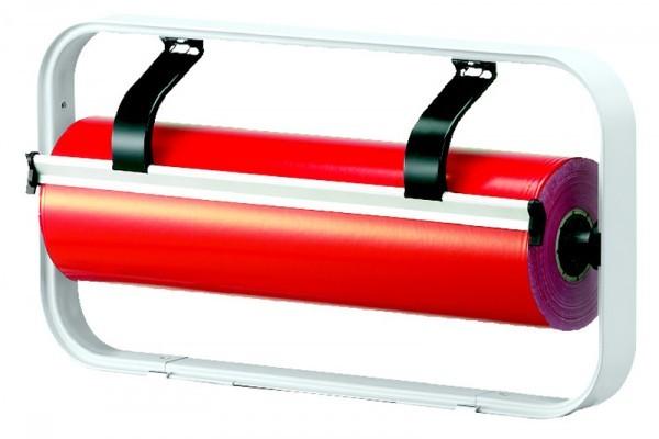 Aufsatzabroller 50 cm verchromt gezahntes Messer