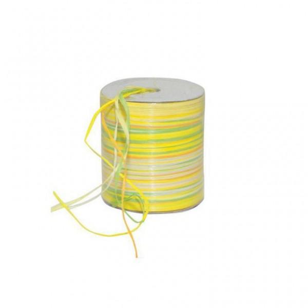 Raphia Multi Rolle 50Meter gelb