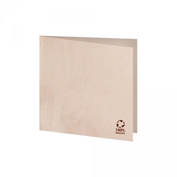 Serviette 100% Recycling Material 20x20cm