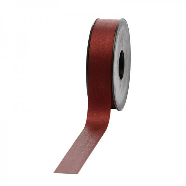 Polyband matt 25mm 45Meter bordeaux