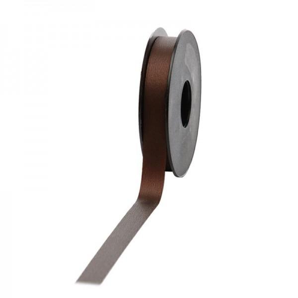 Polyband matt 16mm 45Meter dunkelbraun