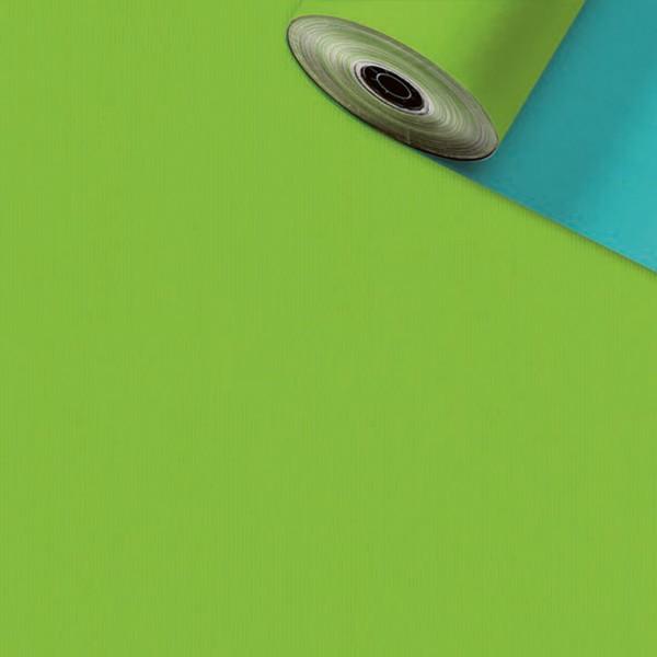 Geschenkpapier Rolle 70cm 250Meter hellblau/hellgrün