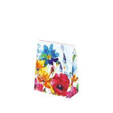 """Geschenktaschen """"Floral"""" 15x7x18+4cm"""