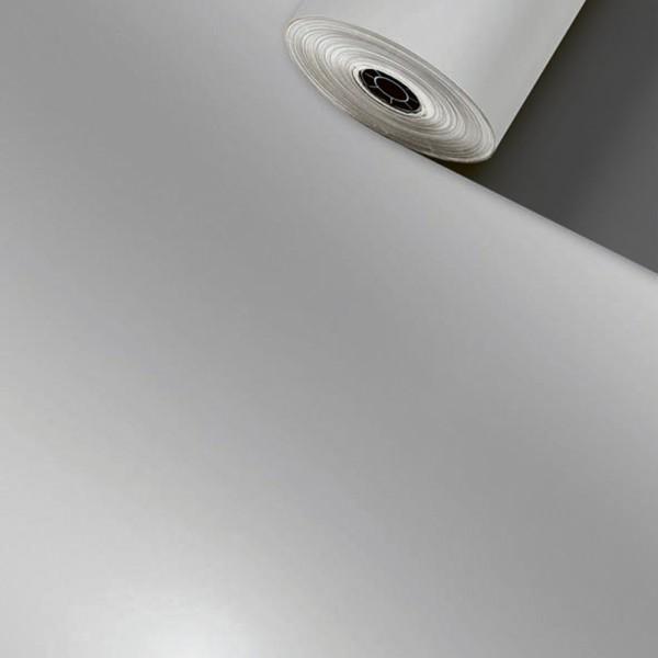 Geschenkpapier Rolle 50cm 100Meter Uni Lux Silber