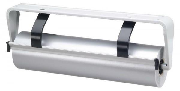 Untertischabroller 50 cm hellgrau glattes Messer