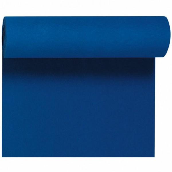 DUNI Tete-A-Tete Tischläufer Dunicel dunkelblau