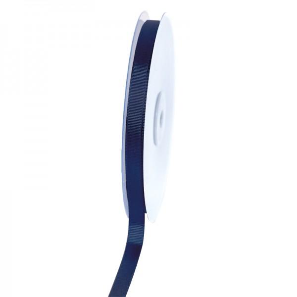 Geschenkband Grosgrain 9 mm/50Meter dunkelblau