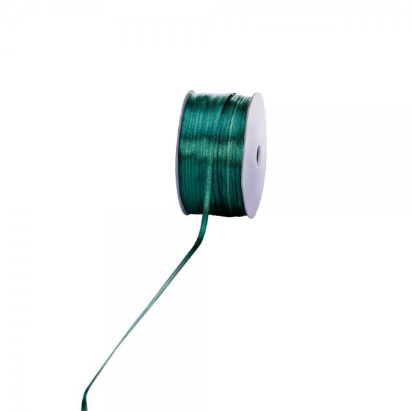 Satinband 3mm 100Meter jägergrün