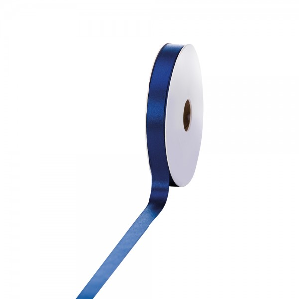 Satinband 15mm 50Meter dunkelblau